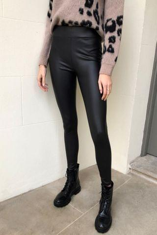 WOMEN Lipsy Leather Look Leggings