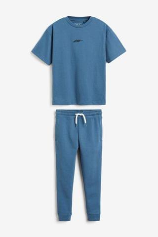 KIDS Blue T-Shirt And Joggers Set (3-16yrs)