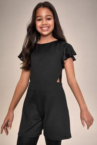 KIDS Lipsy Girl Cut Out Playsuit