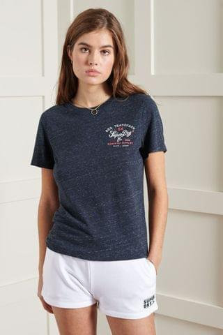 WOMEN Superdry Crafted Workwear T-Shirt