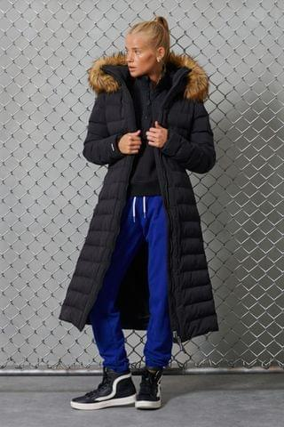 WOMEN Superdry New Arctic Long Padded Coat