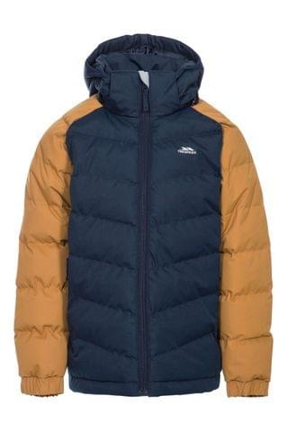 KIDS Trespass Brown Sidespin Male Padded Jacket