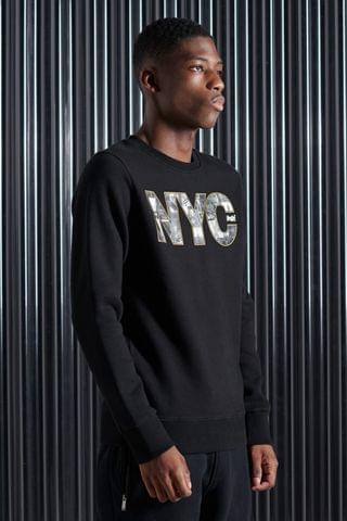 MEN Superdry Vintage Logo NYC Phoyo Sweatshirt