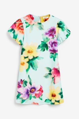 KIDS Large Floral Occasion Dress (3-16yrs)