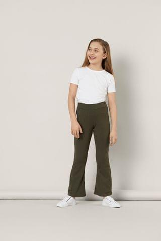 KIDS Name It Jersey Flare Trousers