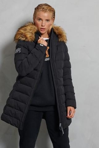 WOMEN Superdry New Arctic Tall Padded Coat