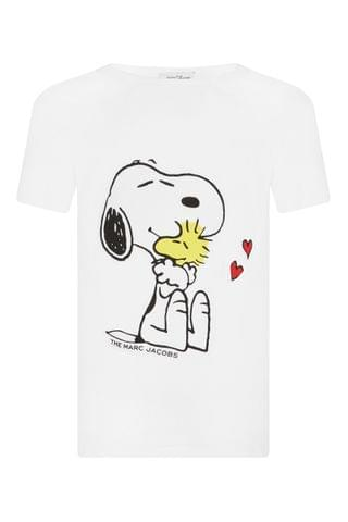 KIDS The Marc Jacobs White Snoopy T-Shirt