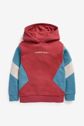 KIDS Rust Colourblock Hoody (3-16yrs)