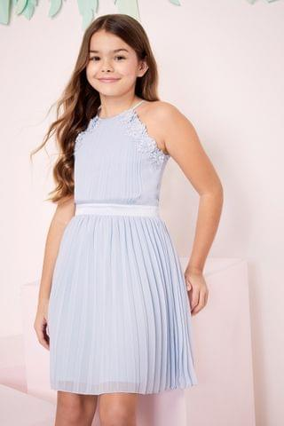 KIDS Lipsy Occasion Pleated Halter Dress