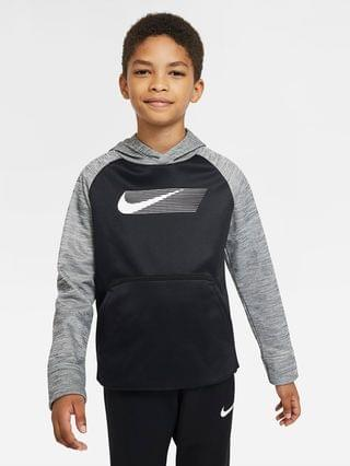 KIDS Big Kids' (Boys') Pullover Graphic Training Hoodie Nike Therma