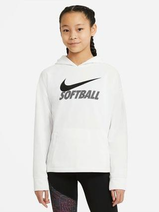KIDS Big Kids' (Girls') Softball Hoodie Nike Therma