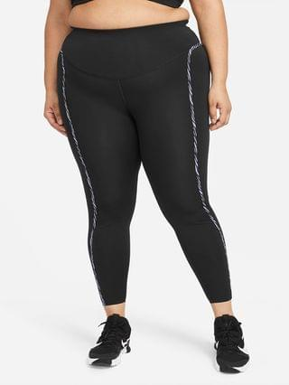 WOMEN Leggings (Plus Size) Nike One Luxe Icon Clash
