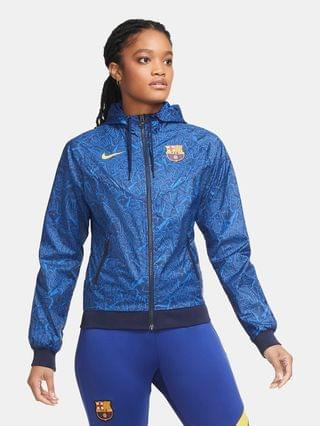 WOMEN Jacket FC Barcelona Windrunner