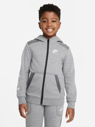 KIDS Little Kids' Full-Zip Hoodie Nike Air