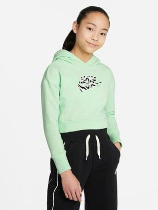 KIDS Big Kids' (Girls') Cropped Hoodie Nike Sportswear