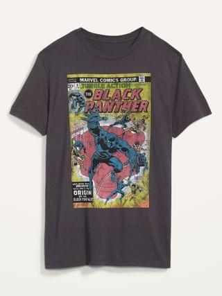 WOMEN Marvel Comics Black Panther Gender-Neutral Graphic Tee for Men & Women
