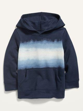 KIDS Dip-Dye Stripe Pullover Hoodie for Toddler Boys