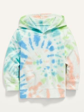 KIDS Tie-Dye Pullover Hoodie for Toddler Boys