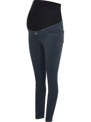 WOMEN Grey Molly overbump maternity jeggings
