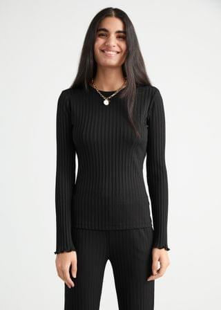 WOMEN Fitted Rib Top