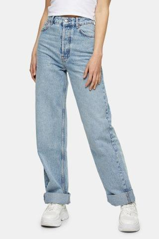 WOMEN Bleach One Oversized Mom Jeans