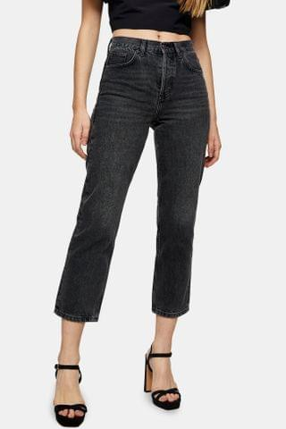 WOMEN CONSIDERED Washed Black Jeans