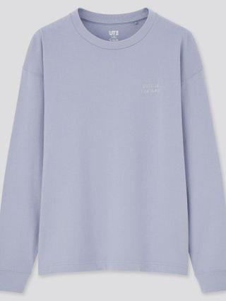 WOMEN peanuts x yu nagaba crew neck long-sleeve t-shirt