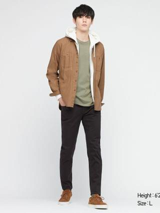 MEN ultra stretch skinny-fit color jeans (online exclusive)