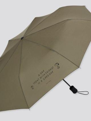 MEN peanuts x yu nagaba UV Protection compact umbrella