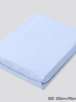MEN AIRism king-size fitted sheet