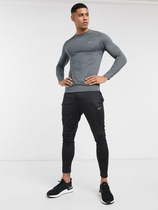 4505 icon training super skinny sweatpants with quick dry in black
