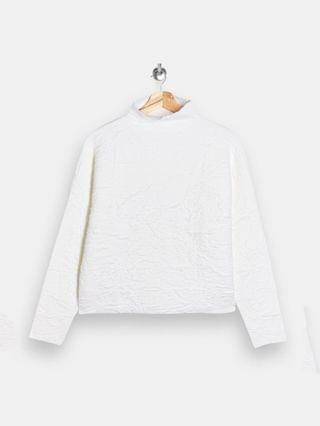 WOMEN Topshop turtleneck sweater in white