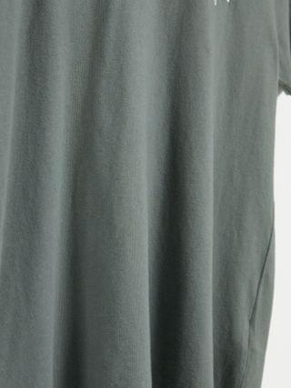 Abercrombie & Fitch elevated tech logo t-shirt in green
