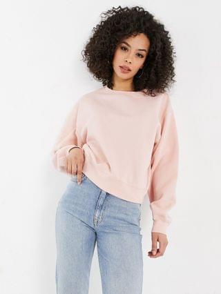 WOMEN New Look Tall sweatshirt in rose pink