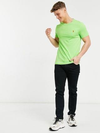 Polo Ralph Lauren player logo t-shirt in kiwi lime