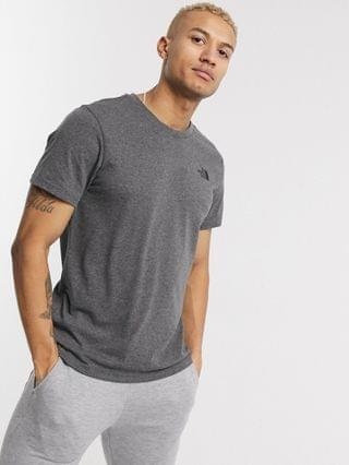 The North Face Simple Dome t-shirt in gray