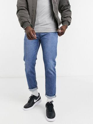 TEST LEVI Levi's skinny tapered fit jeans in eat the popcorn advanced light wash