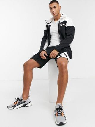 adidas ZNE jacket in black and white