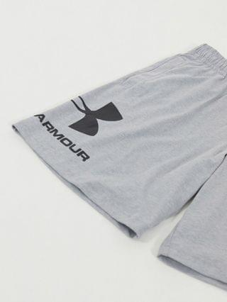 Under Armour Sportstyle cotton shorts in gray