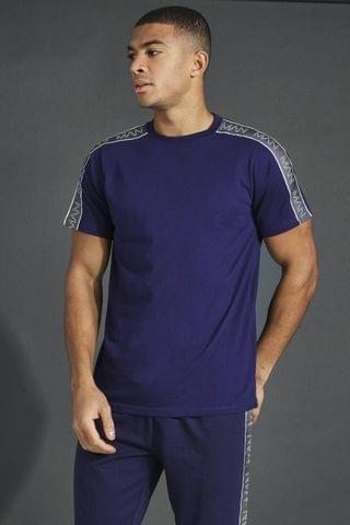 MEN Active T-shirt With Tape Detail