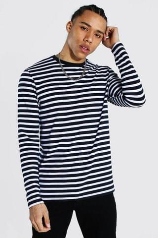 MEN Tall Man Signature Stripe Long Sleeve T-shirt