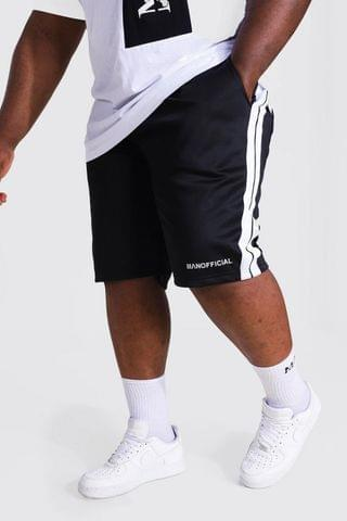 MEN Plus Man Tricot Mid Short With Side Tape