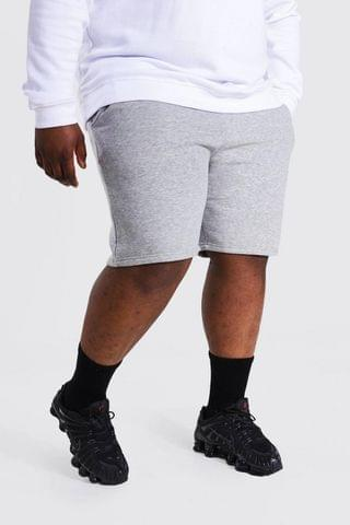 MEN Plus Jersey Shorts With Man Draw Cords