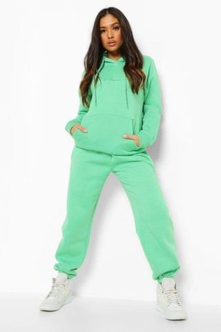WOMEN Petite Woman Embroidered Hoody Tracksuit