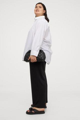 WOMEN H&M+ Straight Jersey Pants
