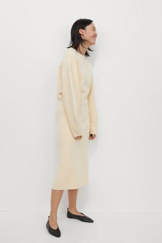 WOMEN Fine-knit Dress