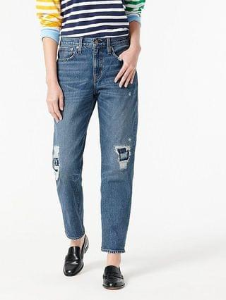 WOMEN Slouchy boyfriend jean in Putnam wash