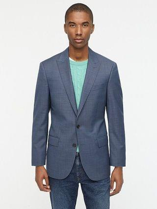 MEN Ludlow Slim-fit suit jacket in Italian stretch wool