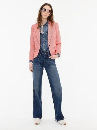 WOMEN Cropped lady blazer in stretch tweed