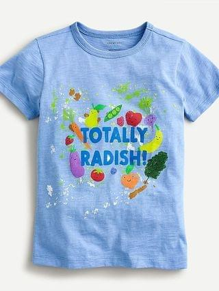 "KIDS Kids' ""Totally radish"" veggie T-shirt"